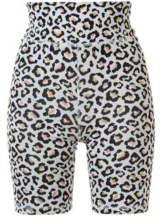 Shop The Upside Leopard Dance Shorts In Mehrfarbig from stores. Ice blue leopard dance shorts from The Upside featuring a high rise, a leopard print, stitched panels and a stretch fit. Dance Shorts, The Upside, Short Outfits, World Of Fashion, Patterned Shorts, Ice, Products, Printed Shorts, Ice Cream