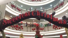 Missing the Christmas 2013 sweetness at SM City Manila