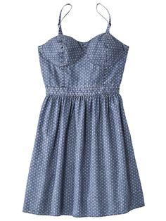 Mossimo Supply Co. Juniors Empire Denim Dress, $24.99, target.com   - Seventeen.com
