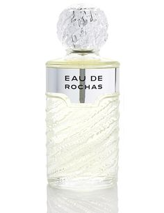 This is what I wear! Eau de Rochas  In 1970, dominated by patchouli-based scents brought from Kathmandu. Eau de Rochas perfume is clean, citrus-based and very Mediterranean. A bestseller for over 40 years. The jar full of undulations and is a true classic