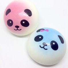 Panda Bun Slow Rise Squishies!