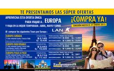 Europa con Lan a súper precio!!! validos hasta el 31 de enero... reserva ya!!