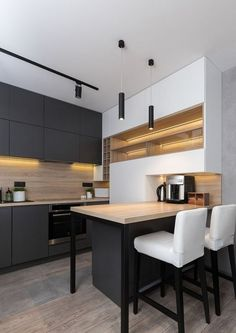 Below are the Popular Modern Kitchen Design Ideas. This article about Popular Modern Kitchen Design Ideas was posted under the … Rustic Kitchen, New Kitchen, Kitchen Decor, Kitchen Ideas, Kitchen Black, Shaker Kitchen, Kitchen Stools, Kitchen Small, Kitchen Pictures