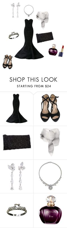 """Charity event in my work"" by viv-h ❤ liked on Polyvore featuring Mikael D, Repetto, Principles by Ben de Lisi, Dolce&Gabbana, Anyallerie, Charm & Chain, Christian Dior and Estée Lauder"
