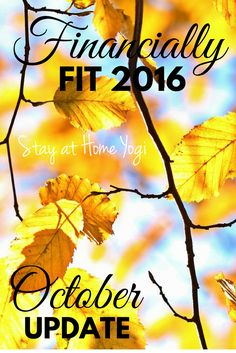financially fit 2016 October update