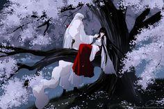 Wao so Kikyou beautiful...Shesshoumaru...