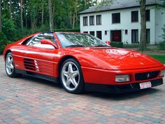 Ferrari 348 TS HD Wallpapers