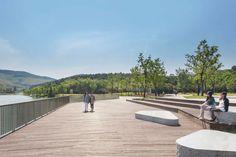 Nanjing Niushoushan Cultural Park | Nanjing China | HASSELL #landscape #architecture #china #boardwalk #timber #wood