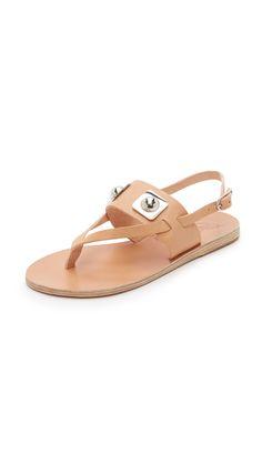Ancient Greek Sandals Ancient Greek Sandals For Peter Pilotto Zoe Sandals - Natural | SHOPBOP.COM saved by #ShoppingIS