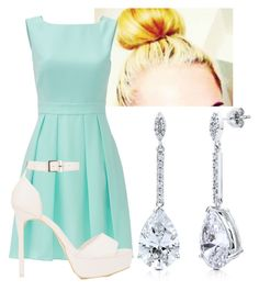 """springtime wonder"" by lily-wildersmith on Polyvore featuring BERRICLE, Kate Spade and Nly Shoes"