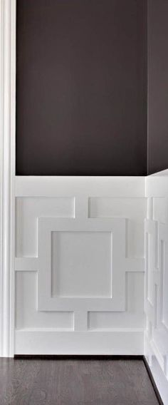 Fabulous Tips: Wainscoting Brown Interior Design wainscoting stairway home.Wainscoting Board And Batten Basements. Moldings And Trim, House Design, Family Room, Interior, Remodel, Room Planning, Home Decor, House Interior, Wainscoting