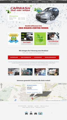 Sauber, schnell und absolut ökologisch - so arbeitet die Autowaschanlage Carwash in Werlte. Auch die Website von Carwash http://www.car-wash-weber.de/ besticht durch ein klares und strukturiertes Design.