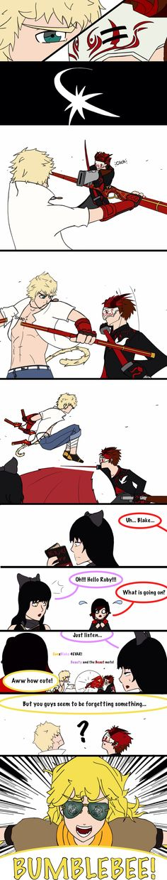 I don't ship it, but I find it hilarious XD  RWBY: shipwreck by PencilManners on DeviantArt