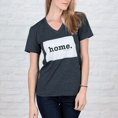 North Dakota Home V-neck