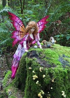 Ryung and some of her costumes came along on a road trip to British Columbia in the Autumn of 2010. The forests on Vancouver Island were so mossy and magical, making the perfect setting for some...