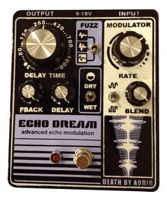 Death By Audio Echo Dream Delay