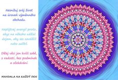 Mandala Važ si sám sebe Mandala, Story Quotes, Outdoor Blanket, Tapestry, True Stories, Style, Hanging Tapestry, Swag, Tapestries