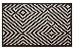 Somerset Flat-Weave Rug, Mocha on OneKingsLane.com