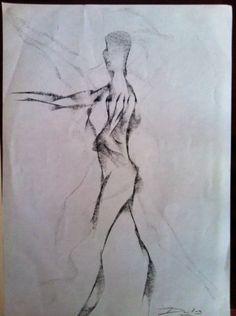 Boceto bailarina 2