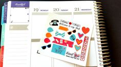Lil Page, Office, ADD ON for orders over 10.00, Fits Erin Condren and others, Plum Planner, Lilly P., Planner Stickers, Scrapbook by LillyTop on Etsy
