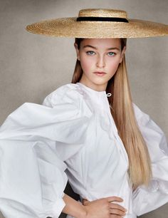 Photography: Patrick Demarchelier Styled by: Sarajane Hoare Hair: Tomi Kono Makeup: Fulvia Farolfi Model: Jean Campbell