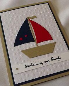 Einladungskarten - Taufkarten, Einladungen Taufe - ein Designerstück von LiebeGruesse bei DaWanda