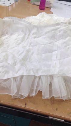 inside of skirt Girls Dresses, Flower Girl Dresses, Tulle, Bridal, Wedding Dresses, Skirts, Fashion, Dresses Of Girls, Bride Dresses