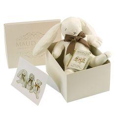 Maud n Lil Luxury Organic Cotton Toy Ears The Bunny