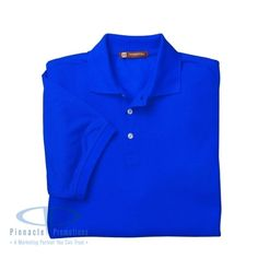 Harriton Men's 5.6 oz. Easy Blend Polo is our Deal of the Month for March.
