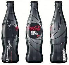 Coca-Cola Zero rebrands as Coke Zero Zero 7 (as in James Bond) Coca Cola Zero, Coca Cola Can, Always Coca Cola, Coca Cola Bottles, Coke Cans, Pepsi Cola, Coca Cola Vintage, James Bond, Sodas