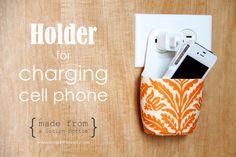 cell phone holder!