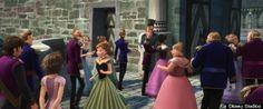 Raiponce et Flynn apparaissent à la fin de la Reine des Neiges.