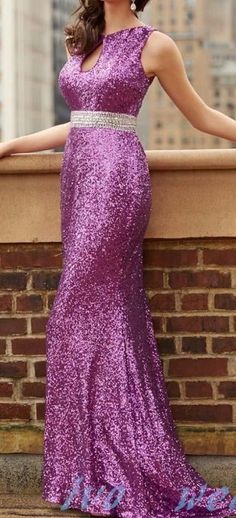 Bling Sequins Evening Dress Prom Dress