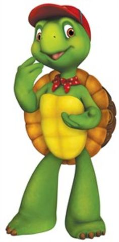 Franklin the Turtle a nice gentle moralistc cartoon for little ones