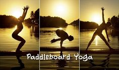 Paddleboard Yoga ? I like Paddleboarding and Yoga but together? ......something to strive for?