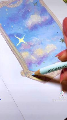 Rennaissance Art, Gouche Painting, Arte Grunge, Simple Canvas Paintings, Star Painting, Hippie Art, Pastel Art, Whimsical Art, Art Sketchbook