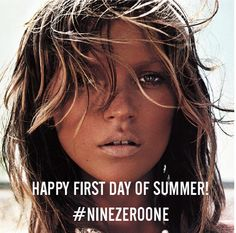Happy first day of summer from Nine Zero One Salon!