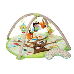 Treetop Friends Activity Mat - such a lovely and friendly place for baby to play :)