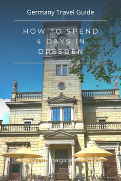 Dresden is a city with rich culture and history. I have spent four days in Dresden and explored castles, nature sites, and the best German craftsmanship, the famous Meissen porcelain. # #Dresden # #tour #europe #dresdenitinerary #Dresdengateway #itinerary #Germany #daytrips #traveltips #weekendtrip #德国 #Deutschland #roadtrip #thingstodo #familywithkids #familytravel #germanylocaltip #localtip European Travel Tips, Europe Travel Guide, European Destination, France Travel, Germany Travel, Travel Guides, Travel Destinations, Globe Travel, Travel Goals