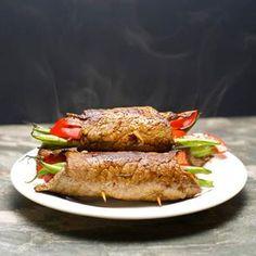 Steak Rolls http://www.eatclean.com/recipes-how-to/five-ingredient-dinner-recipes/five-ingredient-zucchini-fritters