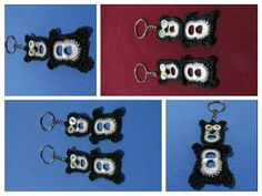 OSO EN 2 TABS O ANILLAS DE LATAS - YouTube Pop Tab Crafts, Diy And Crafts, Pop Can Tabs, Soda Tabs, Pop Cans, Key Covers, Micro Macrame, Christmas Jewelry, Recycled Crafts