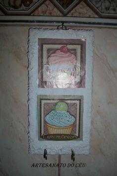 Placa Cupcake - R$ 12,00 Cod. PFCO 013-VENDIDO