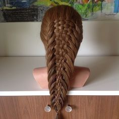 Instagram photo by @flettegutten (Simon Block) | Iconosquare  Six-strand fishtail braid