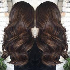 "Fanola Hair Color on Instagram: ""   WARM TONES    @hobbschelsey_hairstylist"""