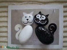 Cat love, Dekoráció, Otthon, lakberendezés, Kép, Falikép, Meska