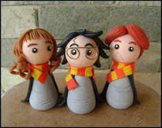 Hermione chibi - Harry Potter | Criando Ideias | 1B3452 - Elo7