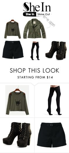 """""""Untitled #78"""" by bella105 on Polyvore featuring Commando, Loveless and Hollister Co."""