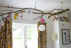 branch as decor