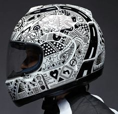 """The """"I want to ride"""" saying gave me the idea to have """"Hoodrat shit with my friends"""" on the helmet somewhere...."""