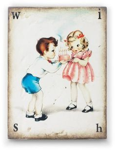 Sid Dickens SB04 Wish Memory Block Tile Storybook Collection Happy Birthday | eBay